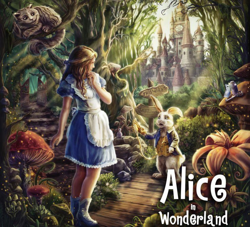 Alice in Wonderland VR Game